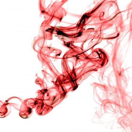 star ship red smoke